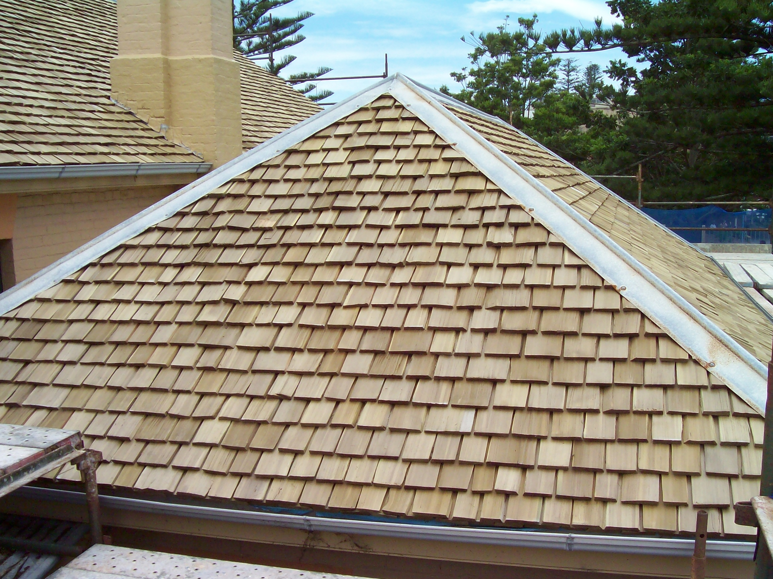 Western Red Cedar Roof Restoration