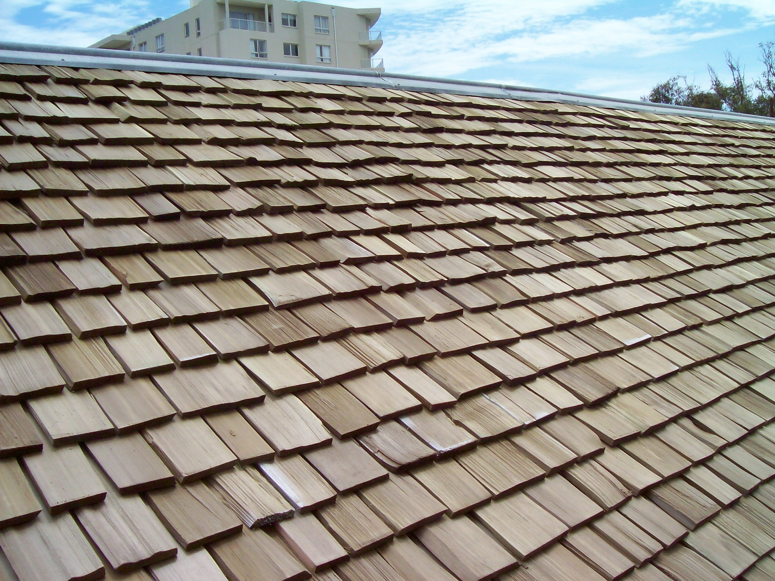 Straight Gable Roof