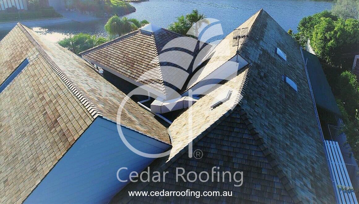 Western Red Cedar Shake Roof
