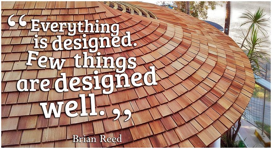 Cedar Roofing Circular Roof