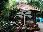 Western Red Cedar, Cedar Shakes, Cedar Shingles, Garden Gazebo, Pool Cabana, Bali Hut, Shade Structure, Outdoor Living, Outdoor Entertaining