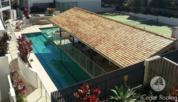 Coolum Resort Pool and Tennis Cabana