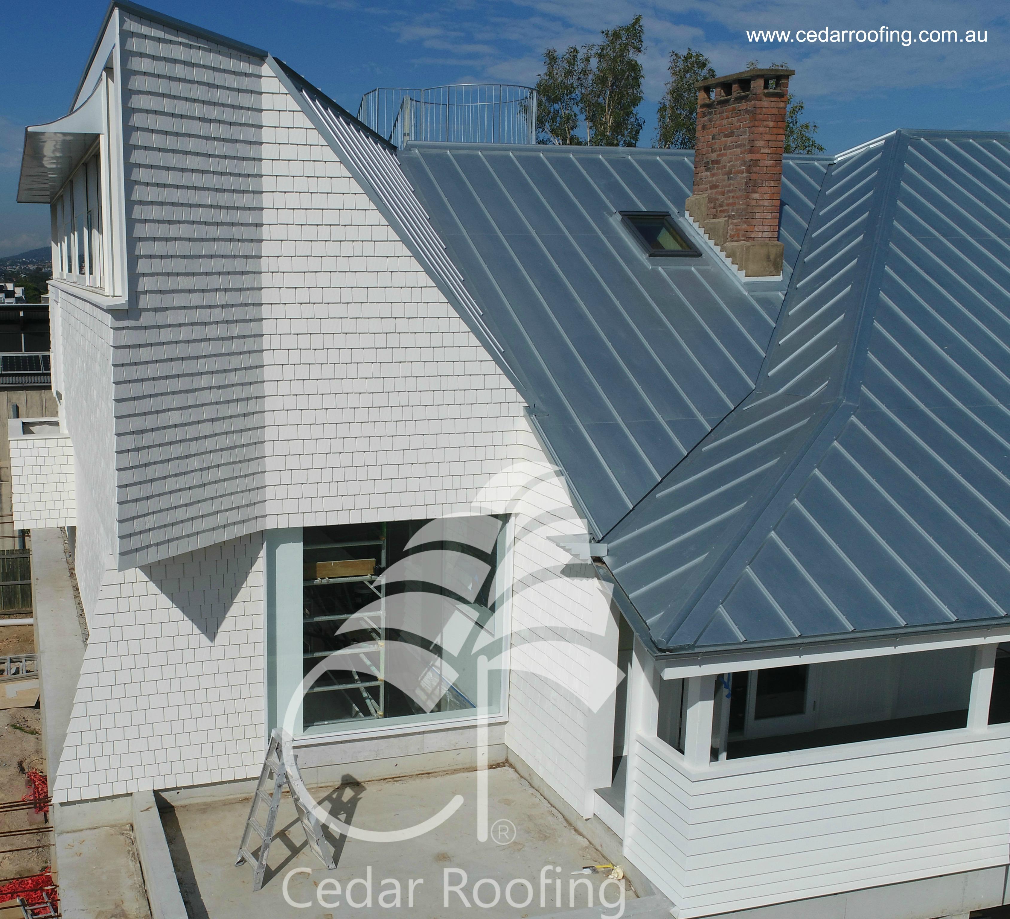 Neo Roman & Standing Seam Metal Roof