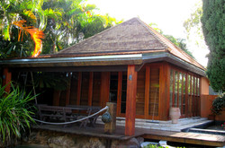 Cedar Roofing Pool Cabana