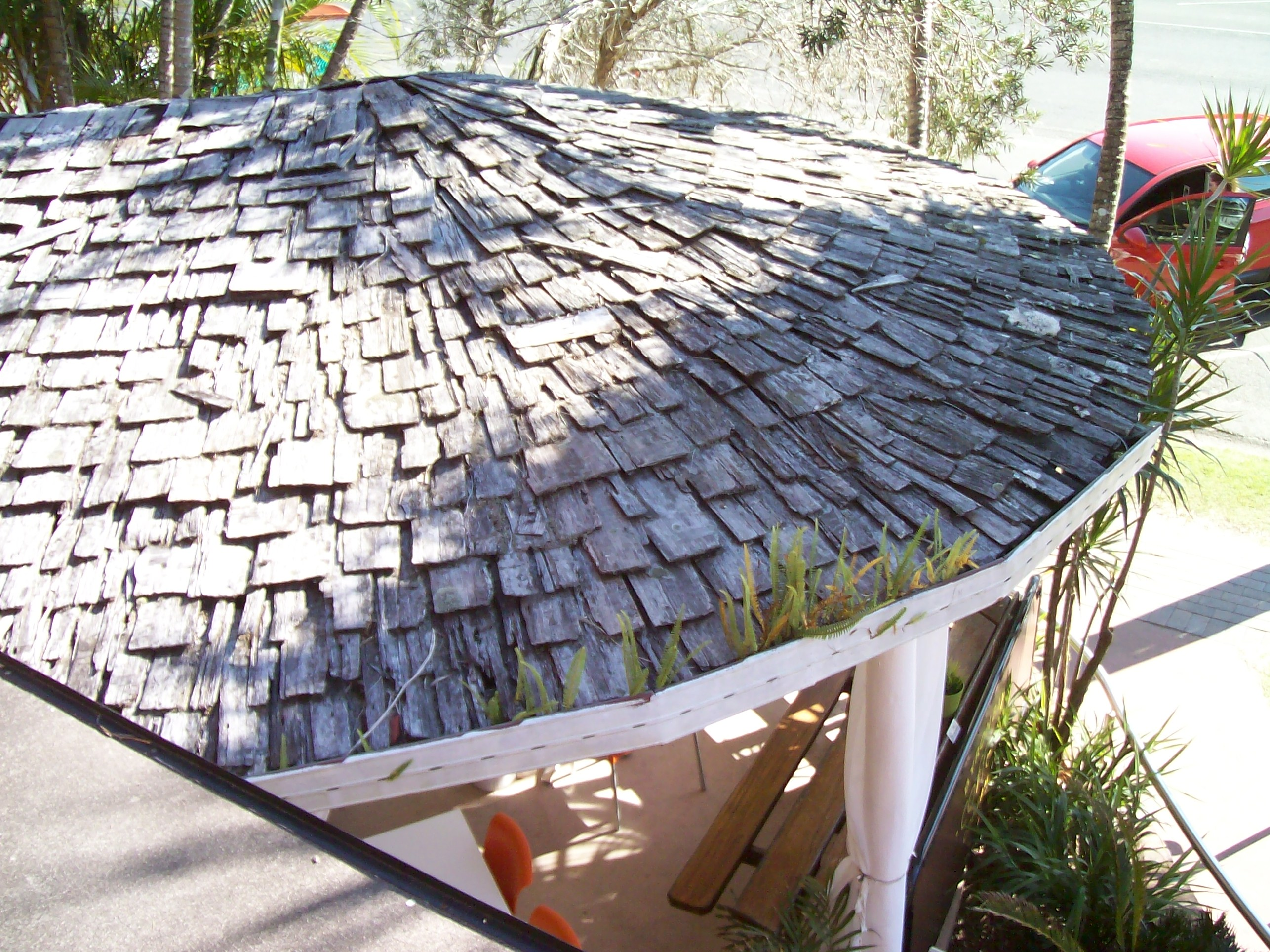 Byron Bay original Wood Roof