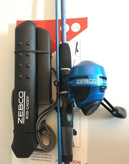 Zebco Rod Combo + Caddy
