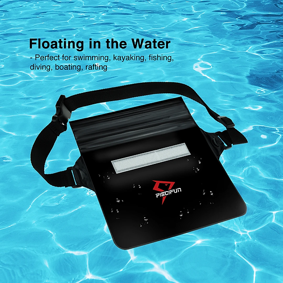 Piscifun Waterproof bag with waist strap