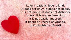 1st Corinthians 13