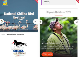 INVITATION TO NATIONAL CHILIKA BIRD FESTIVAL, ADISHA, INDIA