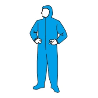 Coverall attached Hood & Boots