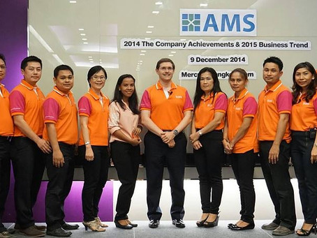 AMS Presents Long Tenure Award