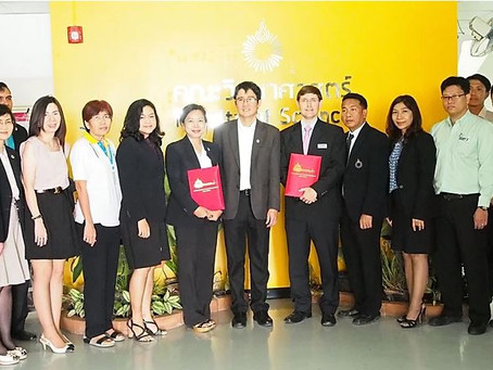 AMS Partners with the Faculty of Science of Rangsit University