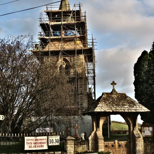 Stoke Lacy Church repairs