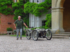 Martyn Webb at the Old Rectory