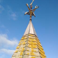 Weathervane Stoke Lacy Church