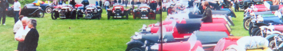 75th 3-wheeler meet at the Old Rectory Stoke Lacy