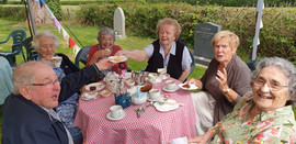 Cream tea for the Village Voices