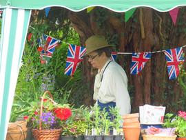 VIntage plant stall