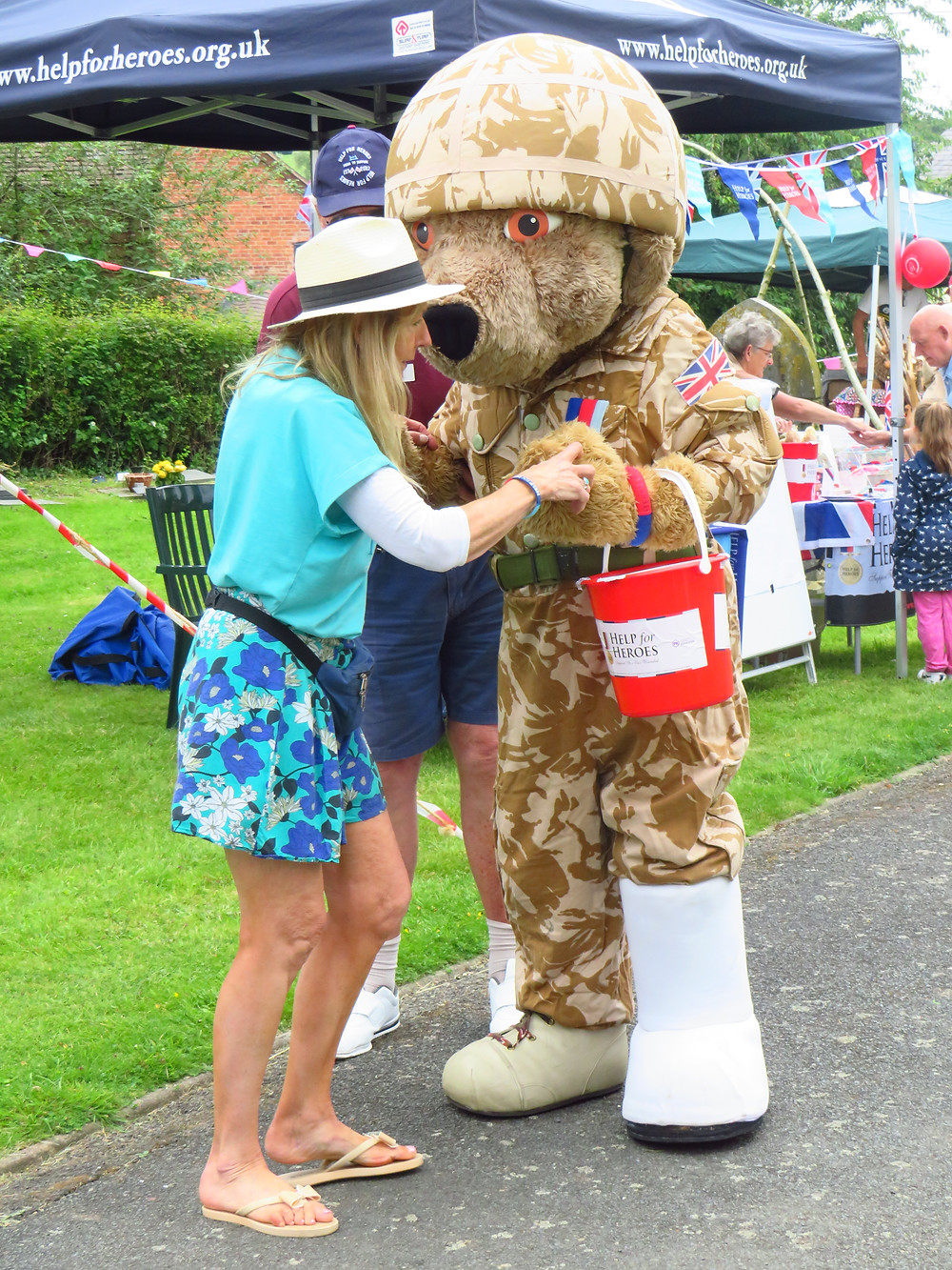 Help for Heroes bear