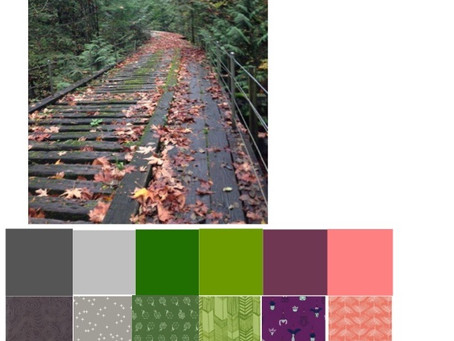 Color Play Friday - Bridge in Fall