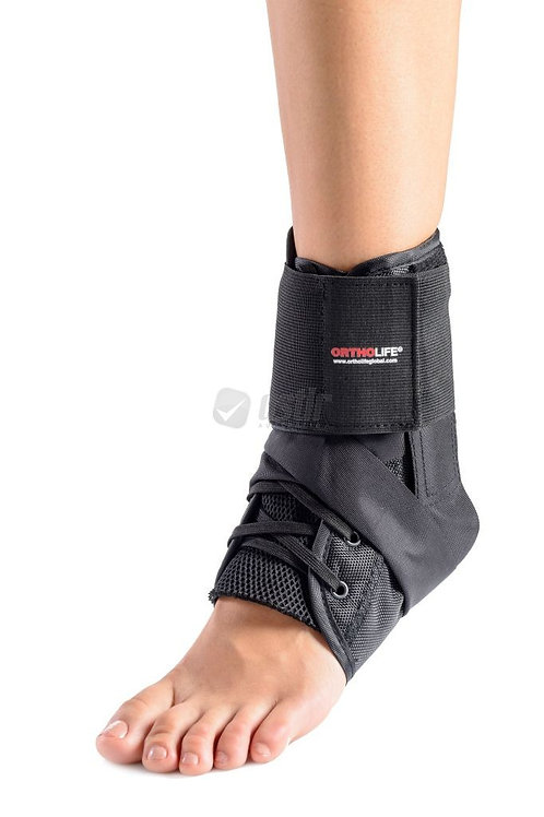 ORTHOLIFE TOTAL STABILITY ANKLE BRACE WITH STRAP