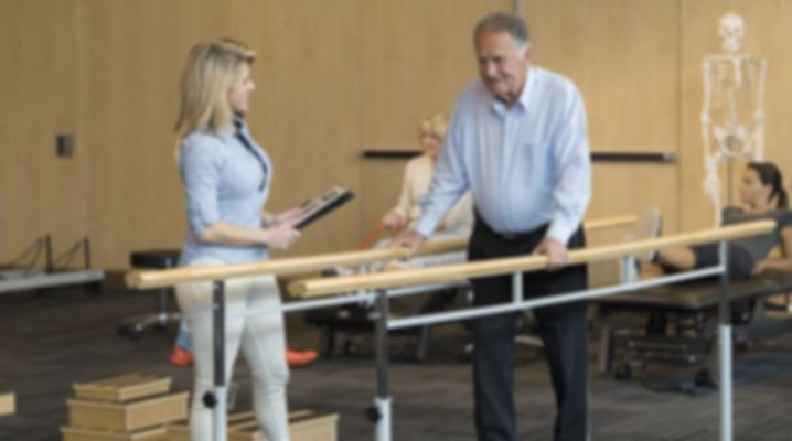 Balance exercises for neurological physiotherapy
