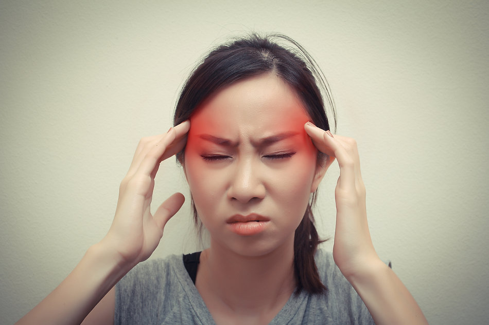 Headache migraine solution with physiotherapy