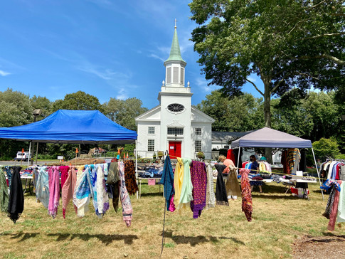 First Annual Nearly New Tent Sale