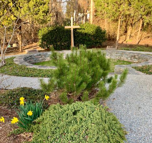 Memorial Garden Spring 2020