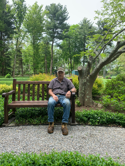 Bob refurbished the benches