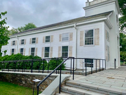 Shutters removed for painting 8/7/19