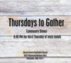 Thursday to Gather.jpg