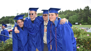 Slideshow from the staging area before Graduation