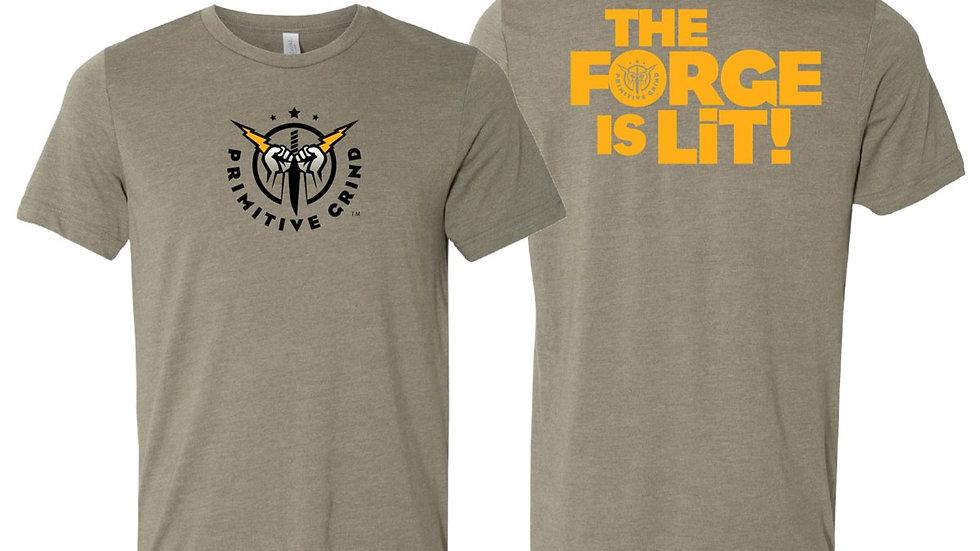 Beige Logo T-Shirt