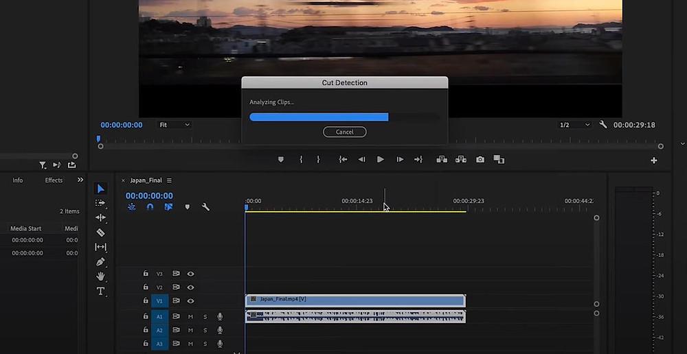 Scene Edit Detection