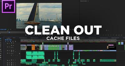 מדריך לניהול קבצי Media Cache בפרמייר