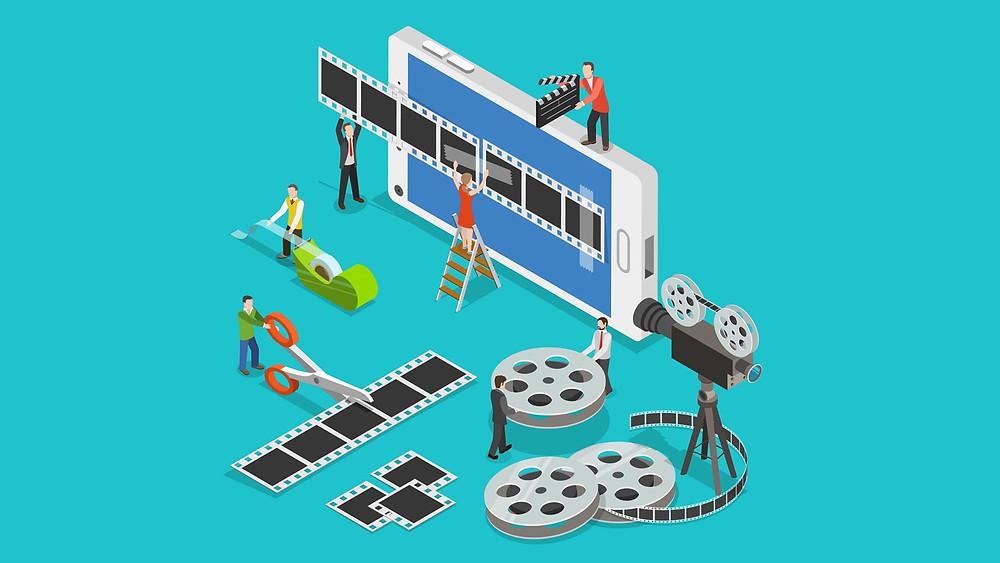 אפליקציה לעריכת סרטונים