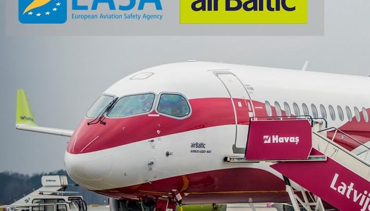 airBaltic pievienojas EASA COVID-19 uzraudzīšanas programmai