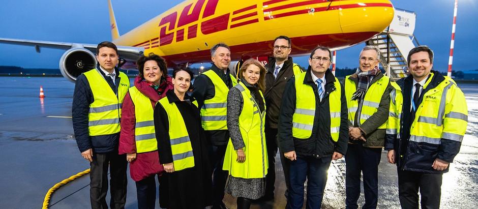 """Lidostā """"Rīga"""" izbūvēs modernāko Eiropā aviācijas kravu apstrādes centru"""