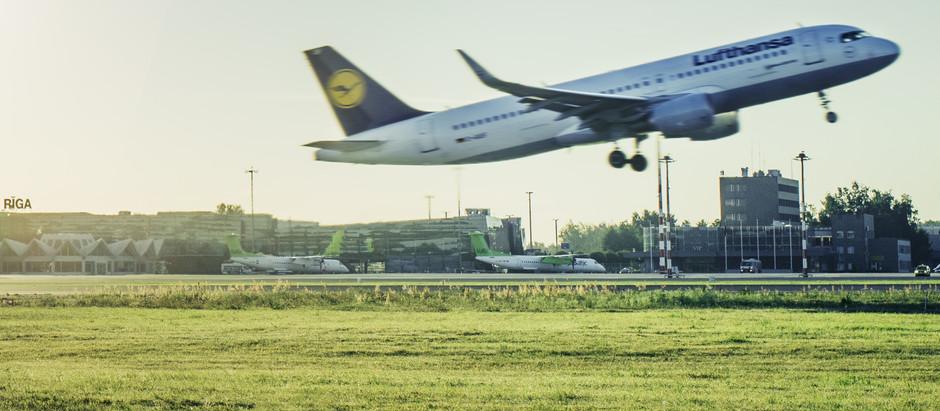 """""""Finnair"""" un """"Lufthansa"""" atsāk lidojumus no lidostas """"Rīga"""""""