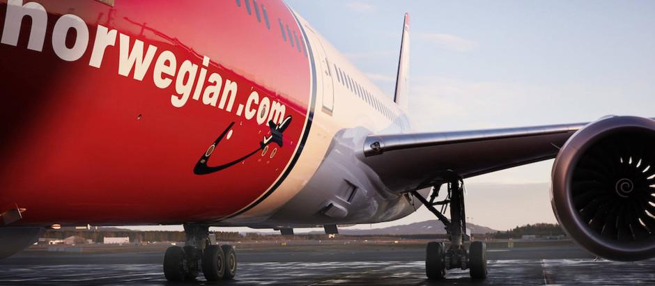 Norwegian Group spiests likvidēt vairākus meitas uzņēmumus ārzemēs