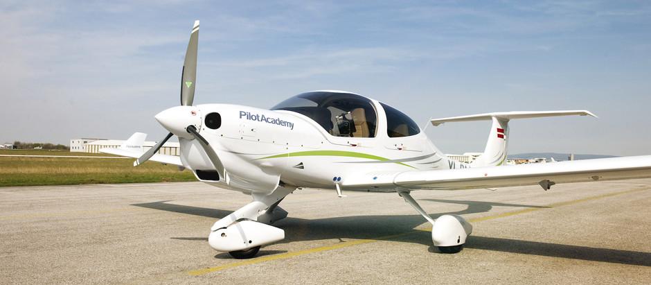 Liepājā airBaltic Training izveido autorizētu Diamond Aircraft lidmašīnu apkopes centru