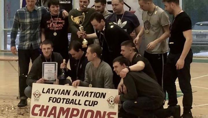 Aviācijas Asociācijas kausa izcīņā futbolā spēkiem mērosies aviācijas nozares komandas
