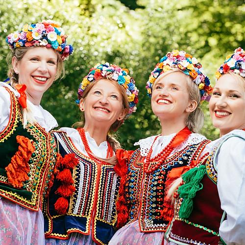 Polnische Tanzgruppe Lasowiacy