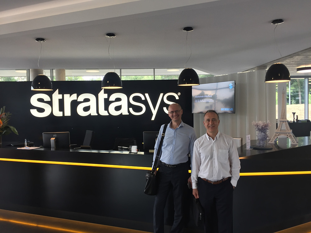 In the European office of Stratasys, Germany, Baden-Baden, 06.2017.