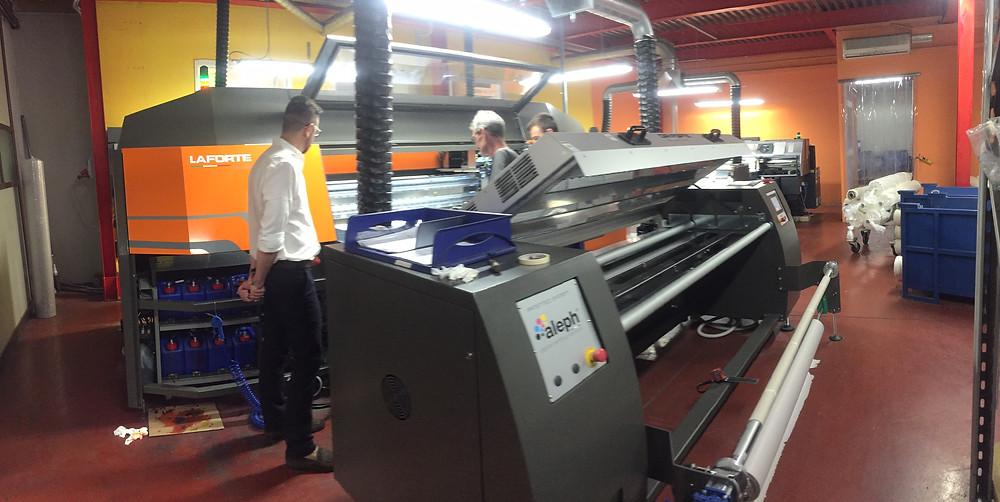 LaForte printer user. Italy, Como. July, 2017.