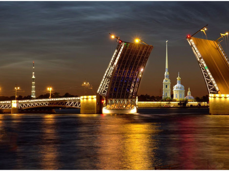 TRAVELLING TO ST.PETERSBURG ON BUSINESS