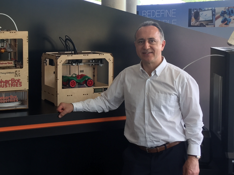 Meeting with the world leader in the production of 3D Printers - the company Stratasys, June, 2017.