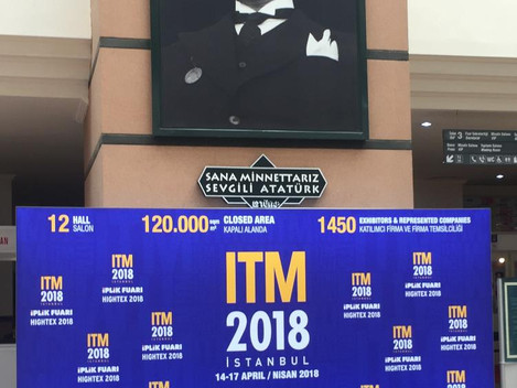 15 th ITM / INTERNATIONAL TEXTILE MACHINERY, ISTANBUL, TURKEY