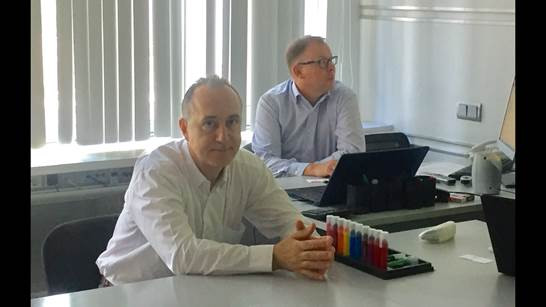 Mr.S.Kulakov, director of East-West Partners during negotiations with representatives of Tauler